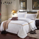 Promotional Hotel Bedding Set From China Linen Manufacturer