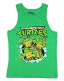 Hot Sale Kids Distressed Turtles Graphic Tank Top (A532)