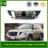 for Nissan Patrol Y62 2014 Sliver Front Grille with Camera