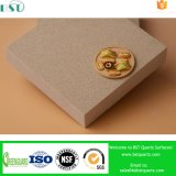 Engineered Artificial Quartz Stone with Yellow Color