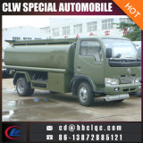 Lower Price Dongfeng 5000L Oil Truck Gasoline Tank Truck