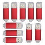 Rotatable Flash Drive for Large Data Storage