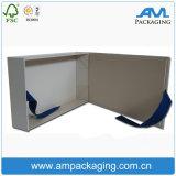 Rigid Cardboard Bespoke Cheap Ribbon Sealed Custom Shoe Box
