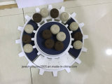 White Acrylic Round Jewelry Display Stand