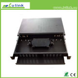 Rack Mounted Fiber Optic Patch panel Distribution Frame
