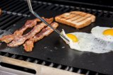 BBQ Grill Mats The Only Non-Slip, Never Stick, No Mess, Dishwasher Safe Grill Sheet Cooking, Baking and for The Barbecue