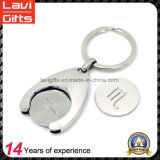 Fashion Key Coin Holder with Custom Trolley Coin Token