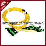12 Cores MPO Singlemode Fiber Optic Cables