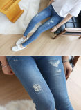 2017 Good Quality Fitness Fashion Design Women Jeans