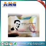 off-Set Printing Customize Personalized Transparent PVC MIFARE 1k ID Card