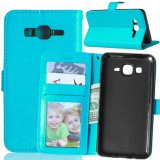 PU Leather Wallet Flip Protective Case Cover with Card Slots