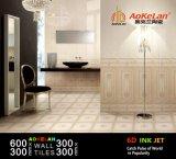 6D Inkjet Glazed Indoor Ceramic Wall Tile for Home Decoration
