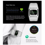 Healthy Care Smart Watch with 1.54 Inch Touch Display & Dual Bands Bluetooth & IP54 Waterproof
