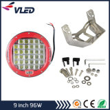 Super New! ! 9inch 96W LED Driving Light Best Products for Import Auto Parts Round LED Work Light, LED Driving