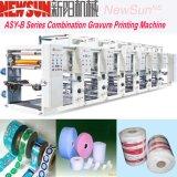 Asy-B Series Rail Plastic Film Rotoravure Printing Presses