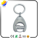 Supermarket Cart Trolley Coin Metal Keychain Holder