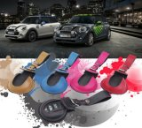 Brand New Leather Material Key Protected Black Mini Ray Style Car Key Bag for Mini Cooper F56 F55 Only (1 PCS/set)