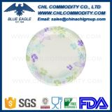 Widely Use Factory Wholesale White Paper Plate with Logo Printing