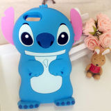 2016 Popularly 3danimal Silicone Mobile Phone Cover for iPhone6