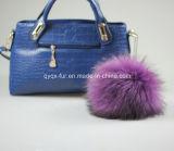 Raccoon Fur POM Purple Color
