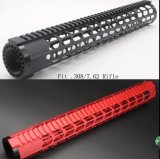 New Red / Black 15′′. 308 Ultralight Handguard Free Float Rail Mounting Systems