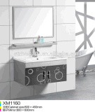Common Modern Stainless Steel Bathroom Cabinet Vanity and Furniture