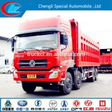 Top Quality 12 Wheels Diesel Type Dongfeng Tipper Truck