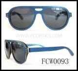Sky Wood Green Sun Glasses MOQ 50PCS