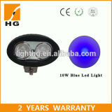Ce Approved 4′′ 10W/20W Blue/White Oval CREE COB LED Work Light for Trucks