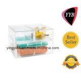 Newest Clear Shoe Box with Drawer (YYB-563)