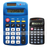 Handheld 8 Digits Dual Power Mini Gift Pocket Calculator (LC569)