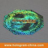 Custom Anti-Fake 2D 3D Pet Hologram Sticker