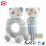 Baby Bear Plush Rattle and Squeaker Soft Cute Set Toy