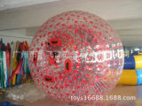 Colourful Double Exciting Inflatable Walking Zorb Ball Bang Bead