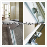 Aluminium Alloy Frame and Tempered Glass Bathroom Shower Enclosure Shower Screen Shower Cubicle