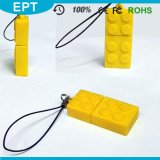 Colorful Building Block Shape Plastic USB Pendrive for Phone (ET613))