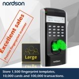 Large Storage Capactiy LCD Screen Network Fingerprint Access Control System with Free Sdk