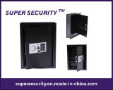 Digital Wall Mounted Home Security Storage Black Safe (SMQ48)