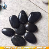 Grade a Natural Polished Black Pebble Stone