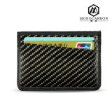 Hot Products Best Quality Luxury Carbon Fiber Credit Card Holder