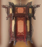 Chinese Antique Reproduction Palace Lantern
