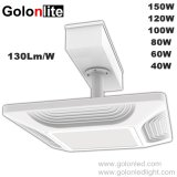 Recessed Ceiling Mounting Lighting Philips 60W 80W 100W 120W 150W Gas Station Garage Warehouse Parking Lot Lights Explosion Proof 100 Watts LED Canopy Light