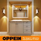 Oppein Europe Style Alder Wood Bathroom Cabinet