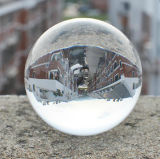 Customized Clear 3D Laser Engraved Crystal Ball