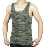 Cheap Logo Customized Mens Cotton Sports Vest