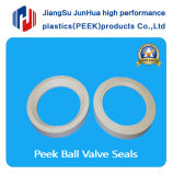 Peek Valve Seal Used in Electronic, Petroleum and Chemical Industry