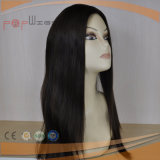 White Skin Top Design Virgin Color Silk Top Wig