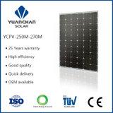 Monocrystal 250 Watt Solar Panel for Hot Sales Size