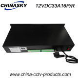 400W Rack Mount Power Supply for Security Systems (12VDC33A16P/R)