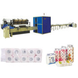 High Speed Automatic Small Toilet Kitchen Paper Roll Production Line